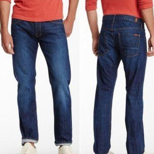 NWT 7 For All Mankind The Straight Jeans Dark Wash
